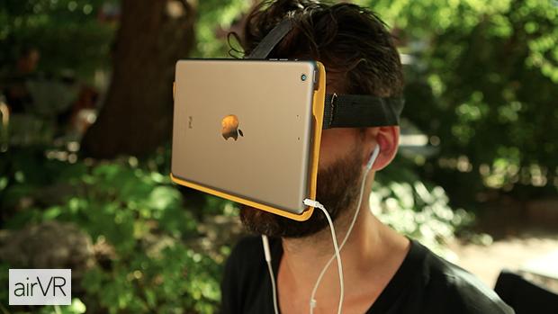 airVR-iPad