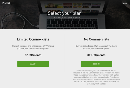 hulu-commercial-free-plan